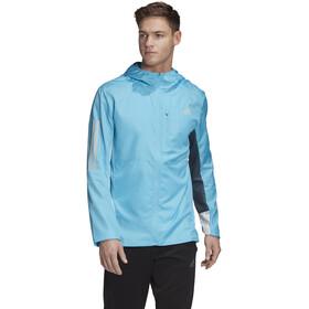 adidas OWN The Run Chaqueta Hombre, azul/blanco